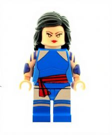 Psylocke (Betsy) From -Men (Xmen) - Custom Designed Minifigure